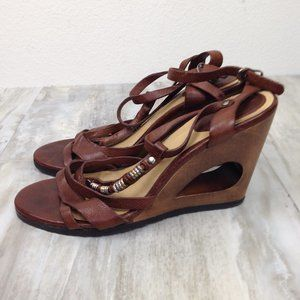 Frye Leather Wedges 9